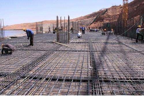 钢筋网片应用在桥梁上