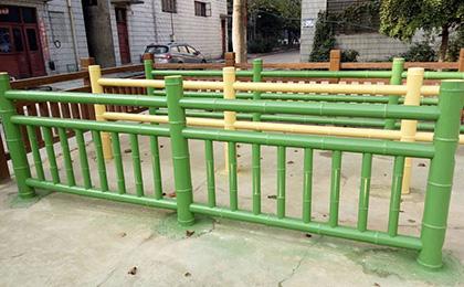 仿竹景观护栏