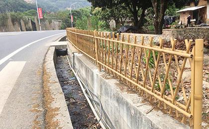 新农村建设用仿竹护栏