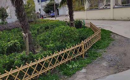 公园庭院用仿竹护栏