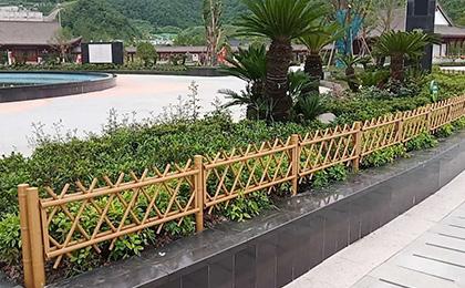 景区仿竹护栏