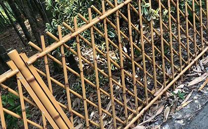异形仿竹护栏