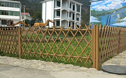 仿竹节围栏
